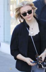 CHLOE MORETZ Out and About in Los Angeles 02/13/2018