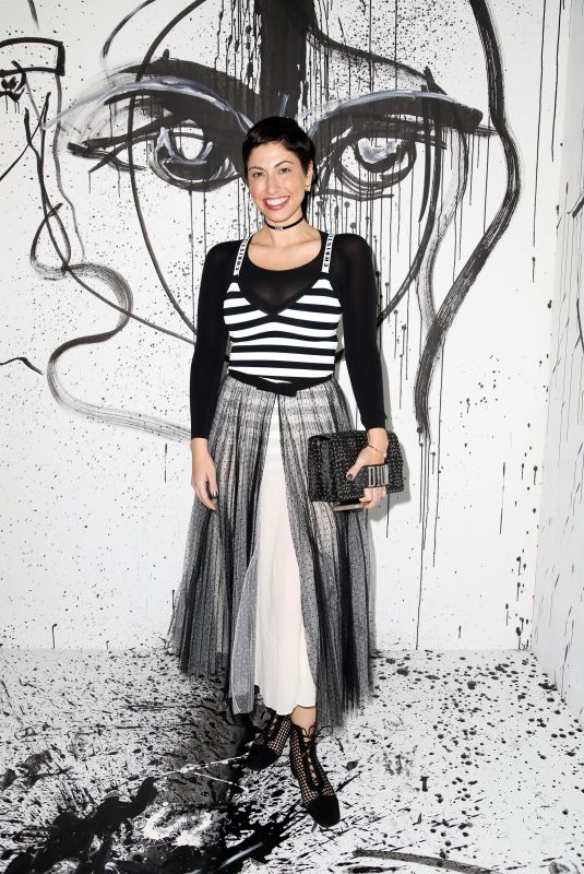 CHRISA PAPPAS at Dior Collection Launch Party at Spring/Summer 2018 New York Fashion Week 02/06/2018