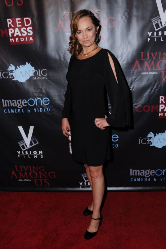 CHRISTI MILLS at Living Among Us Premiere in Los Angeles 02/01/2018