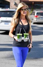 CHRISTINA EL MOUSSA Leaves a Gym in Anaheim 03/02/2018