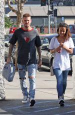 CHRISTINA MILIAN and Matt Pokora Shopping for Sporting Goods in Los Angeles 02/06/2018