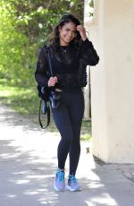 CHRISTINA MILIAN Leaves a Gym in Los ANgeles 02/02/2018