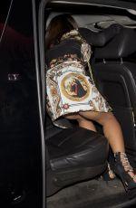 CHRISTINA MILIAN Leaves Avenue Night Club in West Hollywood 02/03/2018