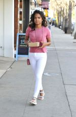 CHRISTINA MILIAN Out for Breakfast to Go in Los Angeles 02/15/2018