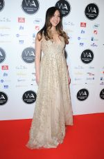 CHRISTINE ALLADO at Whatsonstage Awards in London 02/25/2018