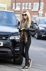 CHRISTINE MCGUINNESS Out and About in Alderley Edge 02/24/2018