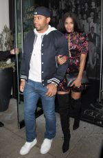 CIARA and Russell Wilson at Catch LA in West Hollywood 02/09/2018