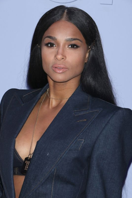 CIARA at Tom Ford Fashion Show at 2018 New York Fashion Week 02/06/2018