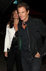 CINDY CRAWFORD and Rande Gerber at Craig