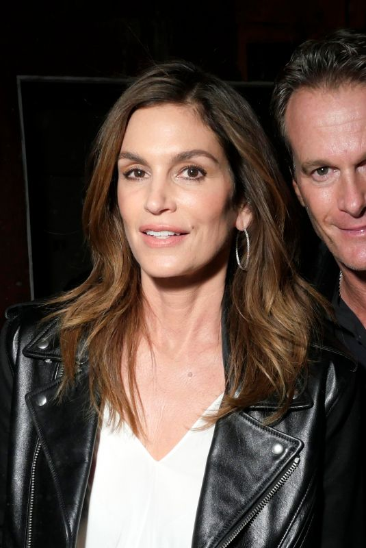 CINDY CRAWFORD at Calvin Klein Fashion Show at NYFW in New York 02/13/2018