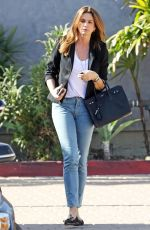CINDY CRAWFORD in Jeans Out in Malibu 02/12/2018