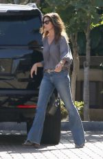 CINDY CRAWFORD Out for Lunch at Cafe Habana in Malibu 02/01/2018
