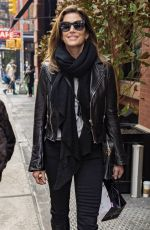 CINDY CRAWFORD Out in New York 02/15/2018