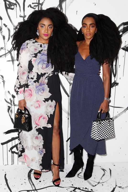 CIPRIANA and TK QUANN at Dior Collection Launch Party at Spring/Summer 2018 New York Fashion Week 02/06/2018