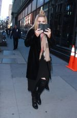 CJ LANA PERRY Arrives at Build Series in New York 01/31/2018