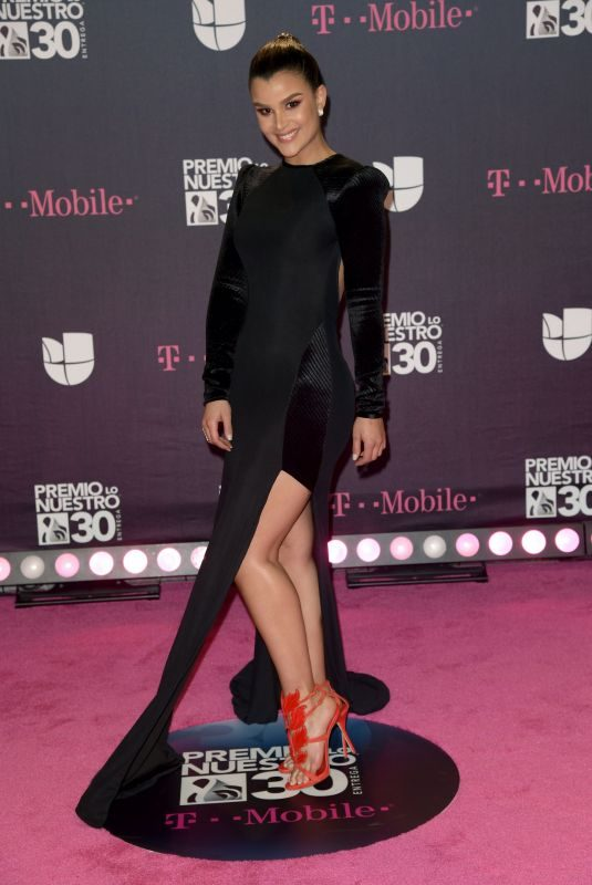 CLARISSA MOLINA at Premio Lo Nuestro Awards 2018 in Miami 02/22/2018