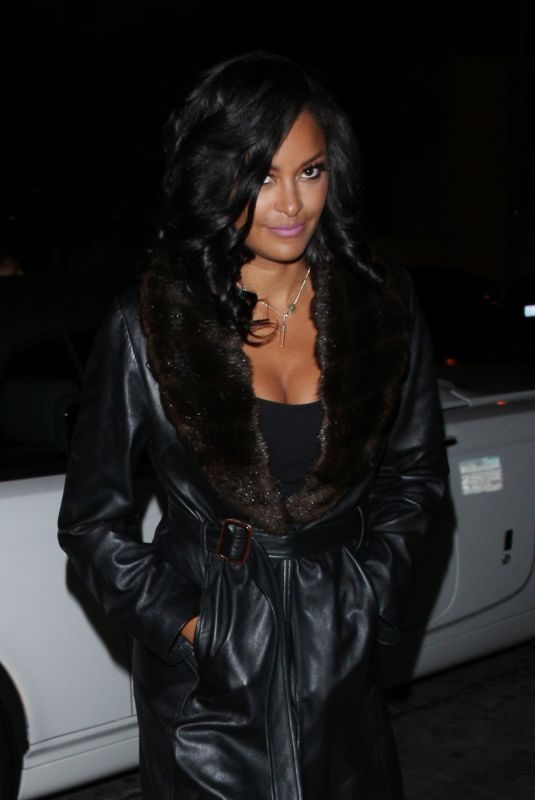 CLAUDIA JORDAN at Catch LA in Los Angeles 02/27/2018