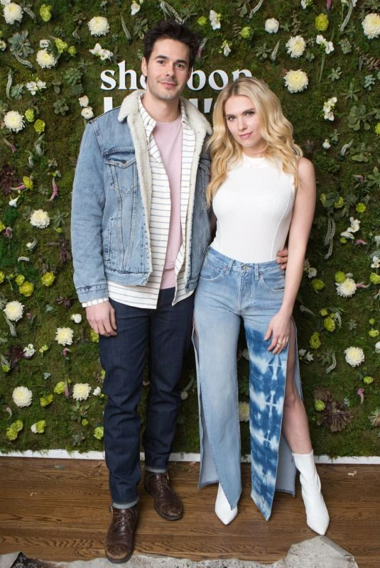 CLAUDIA LEE at Shopbop + Levi's Made & Crafted Exclusive Capsule Collection Launch in Los Angeles 02/22/2018