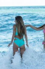 CLAUDIA ROMANI and LAUREN FRANCESCA in Bikini in South Beach 02/25/2018
