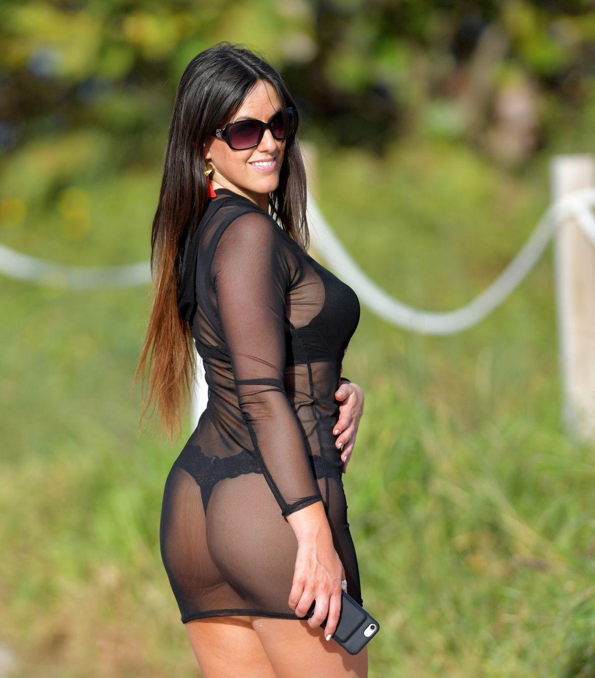 Claudia romani see through - 2019 year