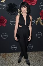CONSTANCE ZIMMER at Unreal and Mary Kills People Party in Los Angeles 02/13/2018