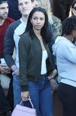 CORINNE FOXX at Chacha x Foxx Charity Celebrity Basketball in Thousand Oaks 02/17/2018