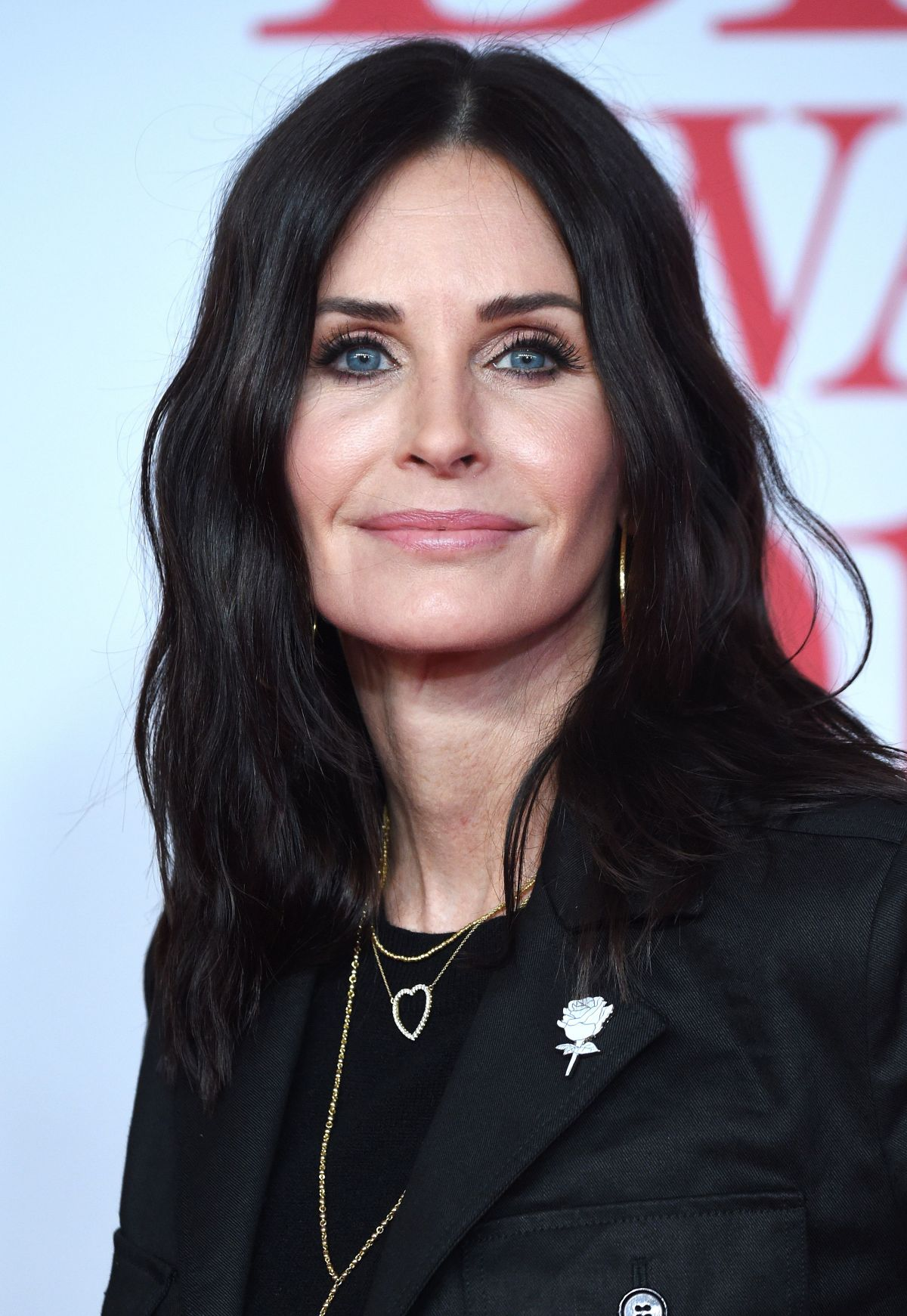 Courteney Cox At Brit Awards 2018 In London 02 21 2018