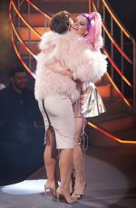 COURTNEY ACT at Celebrity Big Brother Final in Borehamwood 02/02/2018