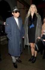 COURTNEY ANNE MITCHELL and Corey Feldman at Craig