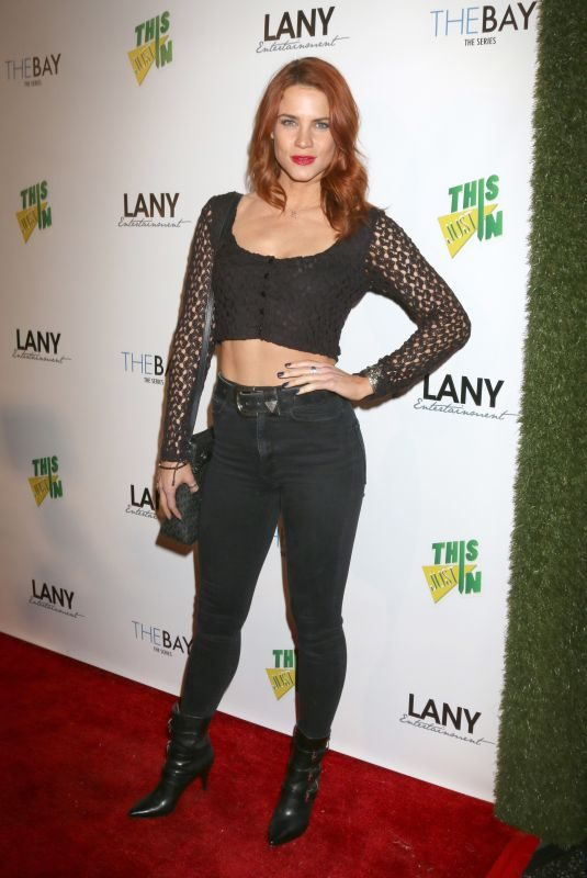 COURTNEY HOPE at 7th Annual Lany Entertainment Mixer in Hollywood 02/06/2018