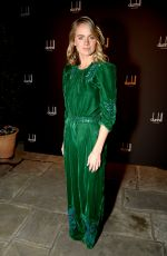CRESSIDA BONAS at Dunhill and GQ Pre-bafta Filmmakers Dinner Party in London 02/15/2018