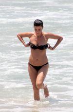 CRISTINA CORDULA in Bikini at Copacabana Beach in Rio de Janeiro 12/25/2017