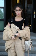 CINDY KIMBERLY Arrives at Her Hotel in Milan 02/24/2018