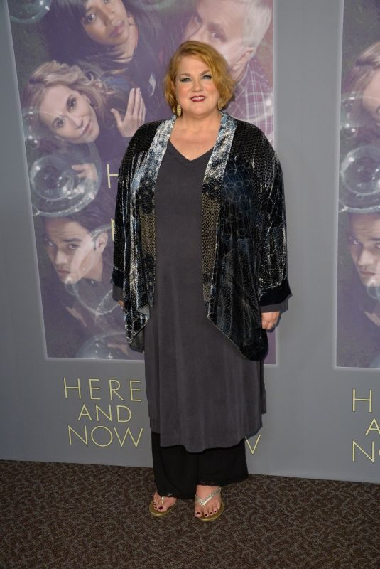 CYNTHIA ETTINGER at Here and Now Premiere in Los Angeles 02/05/2018