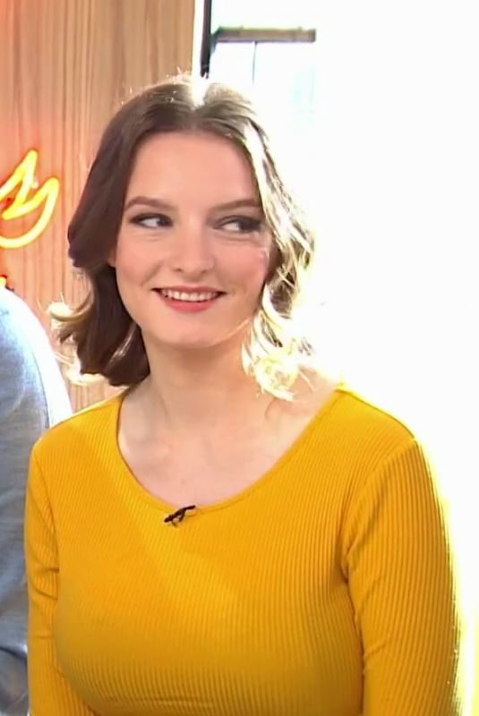 DAKOTA BLUE RICHARDS at Sunday Brunch TV Show 02/11/2018