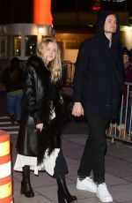 DAKOTA FANNING and Henry Frye Out in New York 02/06/2018
