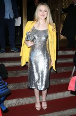 DAKOTA FANNING at Oscar De La Renta Fashion Show in New York 02/12/2018