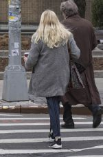 DAKOTA FANNING Out for a Coffee in New York 02/02/2018