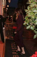 DAKOTA JOHNSON Arrives at Her Hotel in Paris 02/05/2018