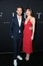 DAKOTA JOHNSON at Fifty Shades Freed Premiere in Los Angeles 02/01/2018
