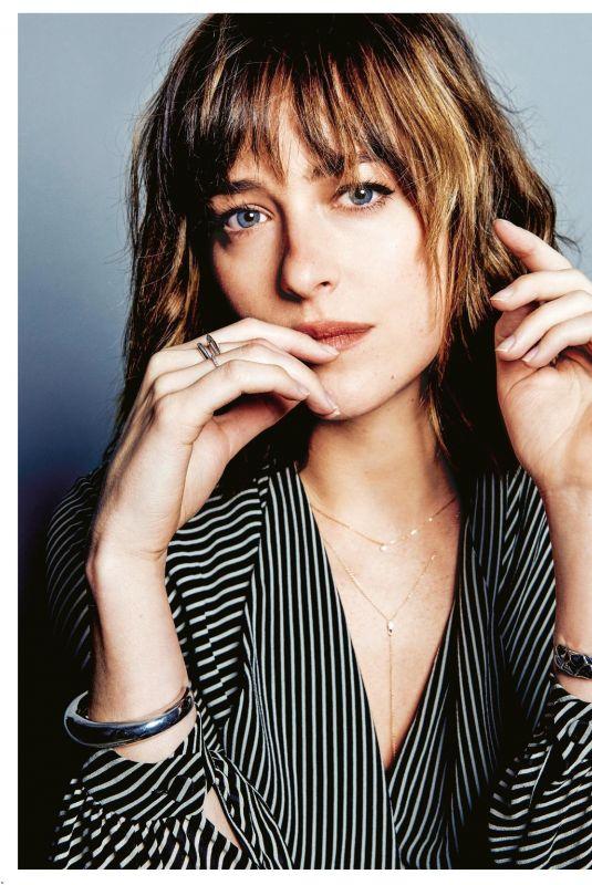 DAKOTA JOHNSON for Grazia Magazine, Italy February 2018