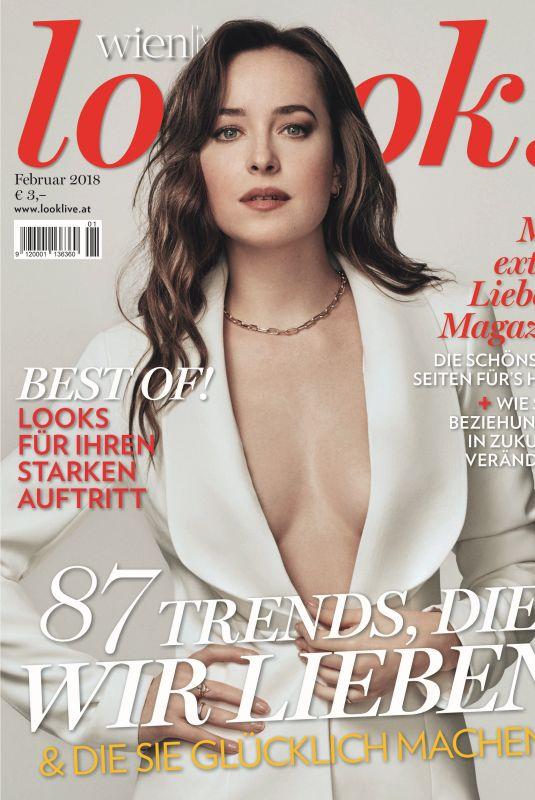 DAKOTA JOHNSON in Look Magazine, Ggermany February 2018