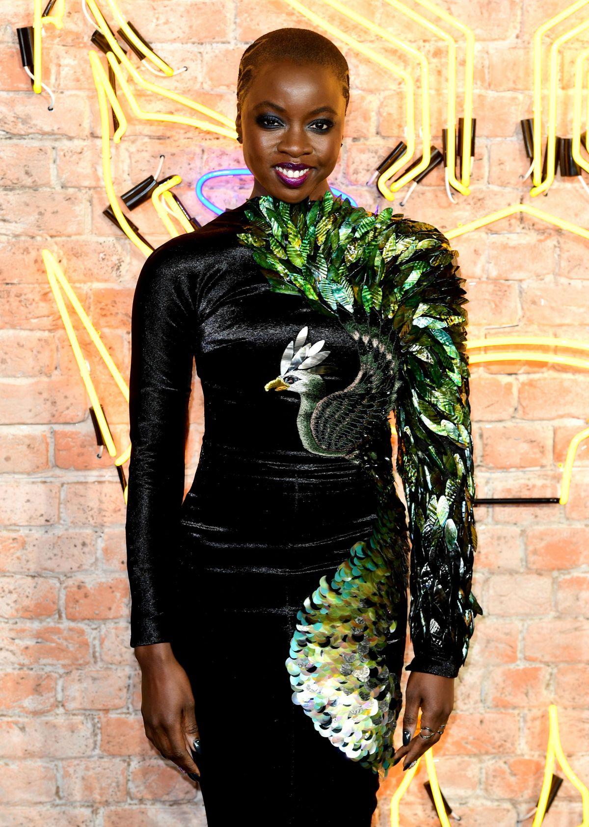Danai Gurira At Black Panther Premiere In London 02 08