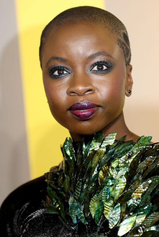 DANAI GURIRA at Black Panther Premiere in London 02/08/2018