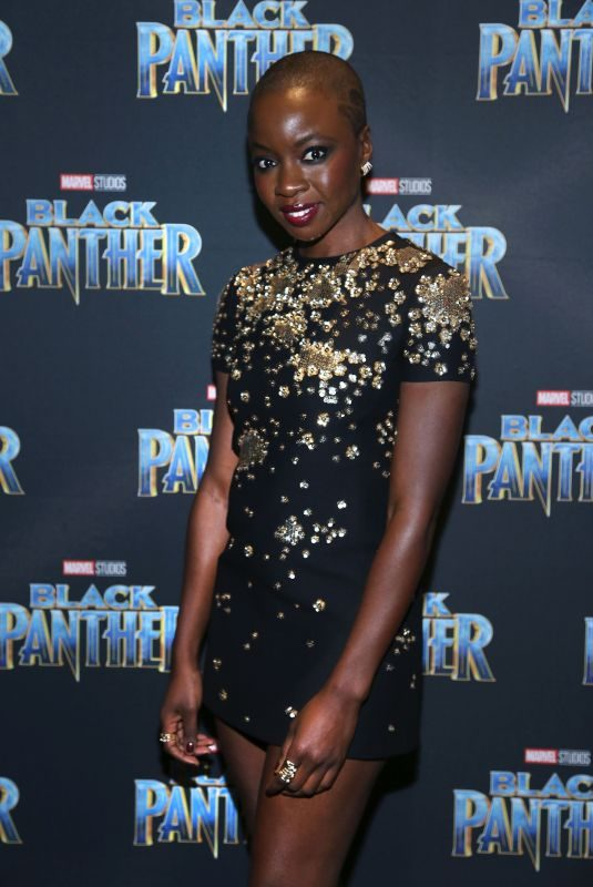 DANAI GURIRA at Black Panther Premiere in Toronto 02/06/2018