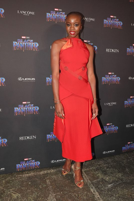 DANAI GURIRA at Black Panther Welcome to Wakanda NYFW Showcase in New York 02/12/2018