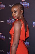 DANAI GURIRA at Black Panther Welcome to Wakanda NYFW Showcase in New York 02/12/2018