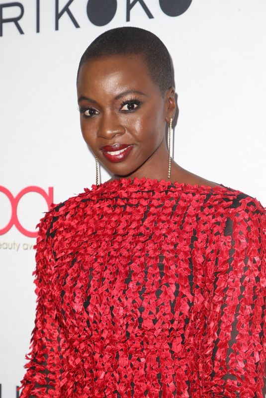 DANI GURIRA at Hollywood Beauty Awards in Los Angeles 02/25/2018