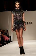 DANIELA BRAGA at Sherri Hill Show at New York Fashion Week 02/09/2018