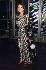 DANIELLE and CHRISTINE STAUB Leaves Carmen Marc Valvo Fashion Show in New York 02/11/2018